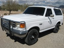 1987 ford bronco xlt 4x4 low miles in Alamogordo, New Mexico