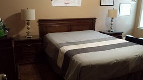 queen bedroom set 4pc OBO in Warner Robins, Georgia