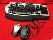 Microsoft Wireless comfort keyboard/ mouse 4000 -  Model 1045 in Wiesbaden, GE