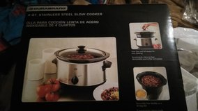 4 quart stainless steel slow cooker in Lawton, Oklahoma