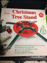 Christmas tree stand in Wiesbaden, GE