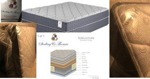 Brand New QUEEN Size Mattress Sterling & Thomas Singleton Premium Plush Bed $1100 in Kingwood, Texas