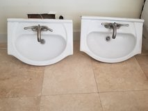 Bathroom sinks in Camp Pendleton, California