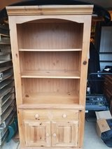 Basset Solid built Pine shelf hutch cabinets in Plainfield, Illinois