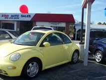 VW NEW BEETLE 1.8 TURBO LOW MILES ~REDUCED~ in Camp Lejeune, North Carolina
