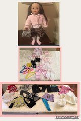 Alex Doll + 37 pc clothing lot in Kankakee, Illinois
