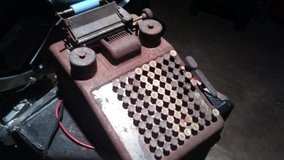 Burroughs Electric adding machine in Fort Campbell, Kentucky