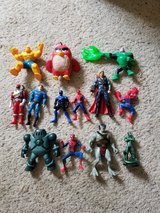 Super Heroes Figure Lot in Camp Lejeune, North Carolina