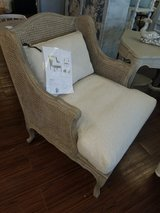 New Chairs with cushions and cane backs - custom finish in Elgin, Illinois