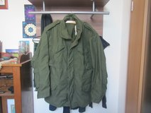Old School Green Field Jacket. in Spangdahlem, Germany