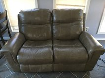 Leather Double Recliner in Fort Bragg, North Carolina