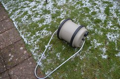 Caravan or camping Aqua water roll, fresh water barrel, 40 litres clean, with handle in Lakenheath, UK