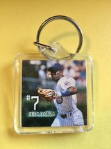 Chicago Cub Keychain - Eric Young #7 in Bolingbrook, Illinois