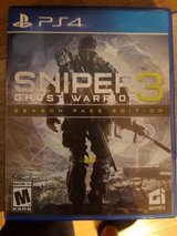 PS4 Sniper 3 Ghost Warrior in Fort Leonard Wood, Missouri