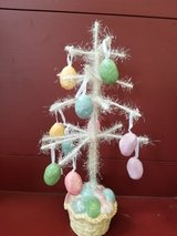 Easter tree decoration in Plainfield, Illinois
