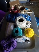 Variety of ribbon and yarn in Travis AFB, California