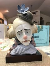 "BEAUTIFUL LLADRO PORCELAIN FIGURINE - ""PENSIVE CLOWN"" – Retired - 05130 in Fort Leonard Wood, Missouri"