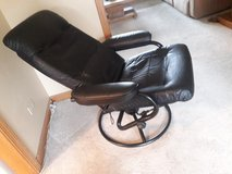 Contemporary leather reclining chair in Joliet, Illinois
