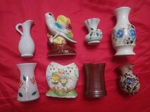 eight vintage vases in Tomball, Texas