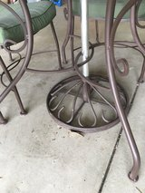 Iron Patio Table in Glendale Heights, Illinois