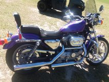 Motorcycle in Hinesville, Georgia