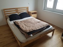 Bed with night stand in Wiesbaden, GE