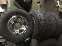 "17"" Ram rims & tires in Fort Leonard Wood, Missouri"