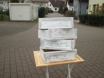 6 wooden drawers in Ramstein, Germany