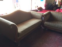 Nice Matching Couch and Oversized Chair in Fort Polk, Louisiana