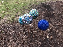 Gazing ball in Oswego, Illinois