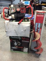 Earthquake power heads/two and auger - reduced in Kingwood, Texas