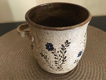 Vintage 1970's pottery with violets on vines in Chicago, Illinois