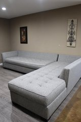 Gray Sectional in Kingwood, Texas