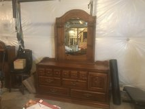 Dresser, Mirror and Headboard in Shorewood, Illinois