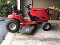 Troy-Built riding lawn mower in Glendale Heights, Illinois