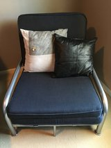 Single Futon Chaise Lounger - converts to single sleeper in Kingwood, Texas