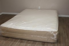 Queen Size Mattress - Restonic Comfort Care 70th Anniversary in Kingwood, Texas