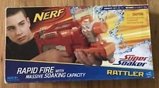 NEW Nerf Super Soaker Rattler RED Rapid Fire w/Massive Soaking Capacity - 25 Ft. in Westmont, Illinois