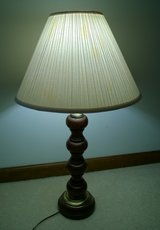 Wood table lamp 3-way switch possible antique? in Wheaton, Illinois
