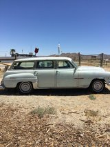 1954 chrysler town and country wagon in 29 Palms, California