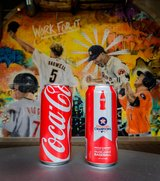 ASTROS World Series Special Limited Edition Coca-Cola COKE Can - New!! in Baytown, Texas