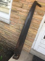 Antique One-2 Man Crosscut Lumber Saw in Bolingbrook, Illinois