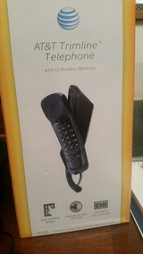 AT&T 210-B (Black) Trimline Corded Phone (Perfect for Magic Jack) in Okinawa, Japan