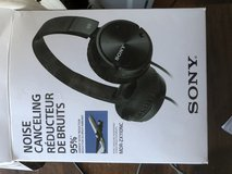 Noise canceling headphones in 29 Palms, California