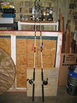 2 X Penn Long Beach 3366C 6 1/2' Boat Combo Rod and Reels in Fort Lewis, Washington