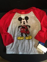 Disney Mickey Size 4T Shirt in Cherry Point, North Carolina