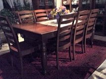 Dining Table and Chairs solid wood, custom made in Grafenwoehr, GE