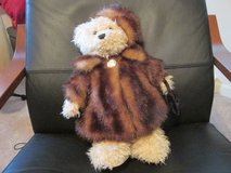 bear with coat and purse in Fort Leonard Wood, Missouri