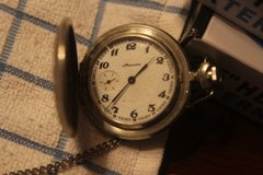Russian Marnna Pocket Watch RARE - WORKING GREAT in Lawton, Oklahoma