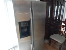 GE Profile Refrigerator (free delivery)credit card accepted in Camp Lejeune, North Carolina